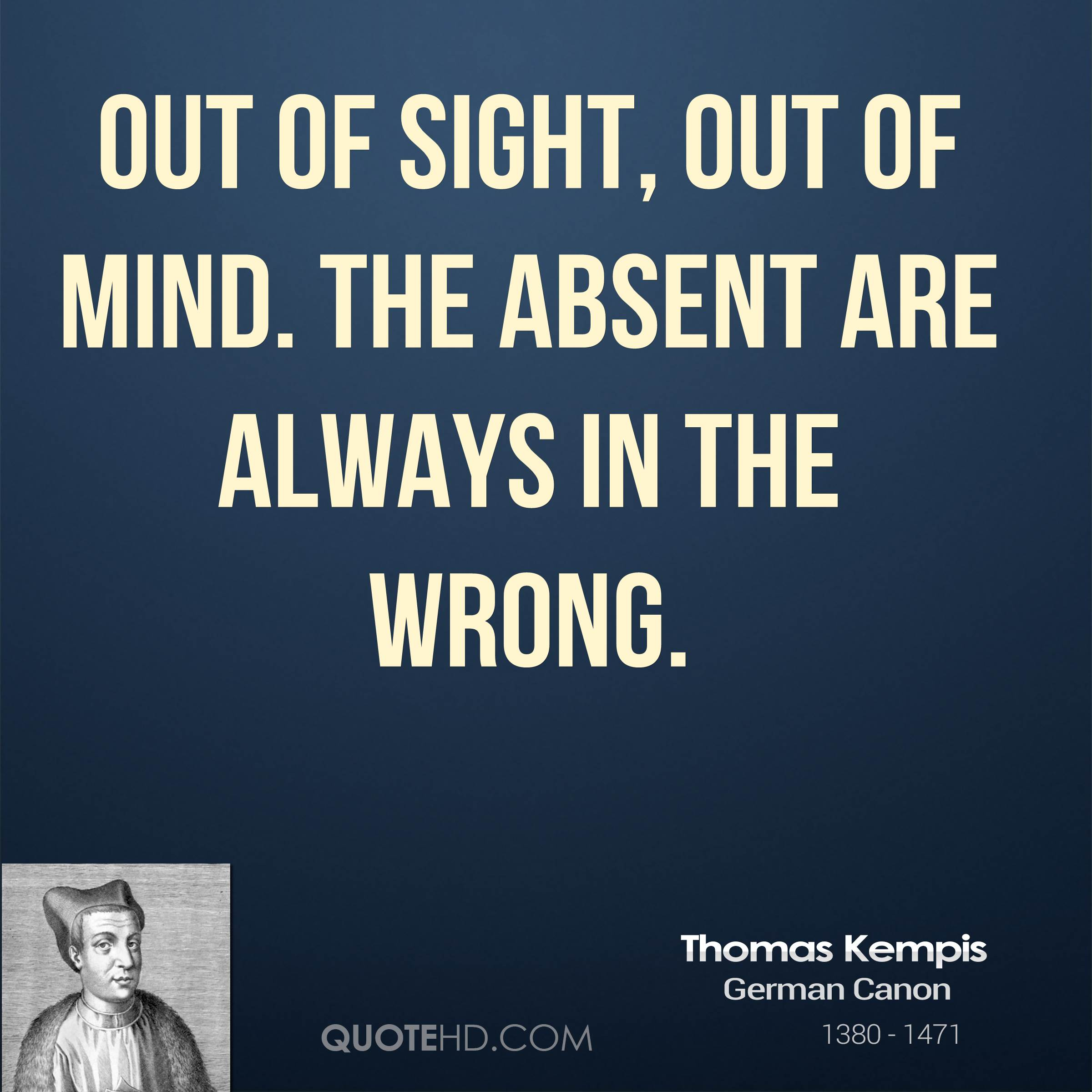 Thomas Kempis Quotes