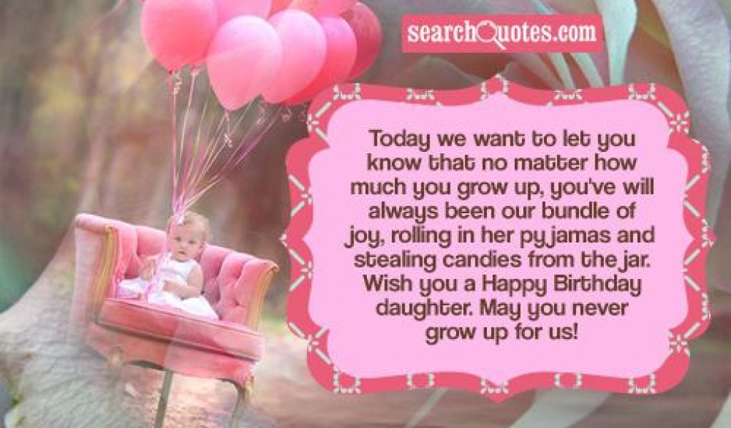 Quotes About Birthday Daughter 35 Quotes