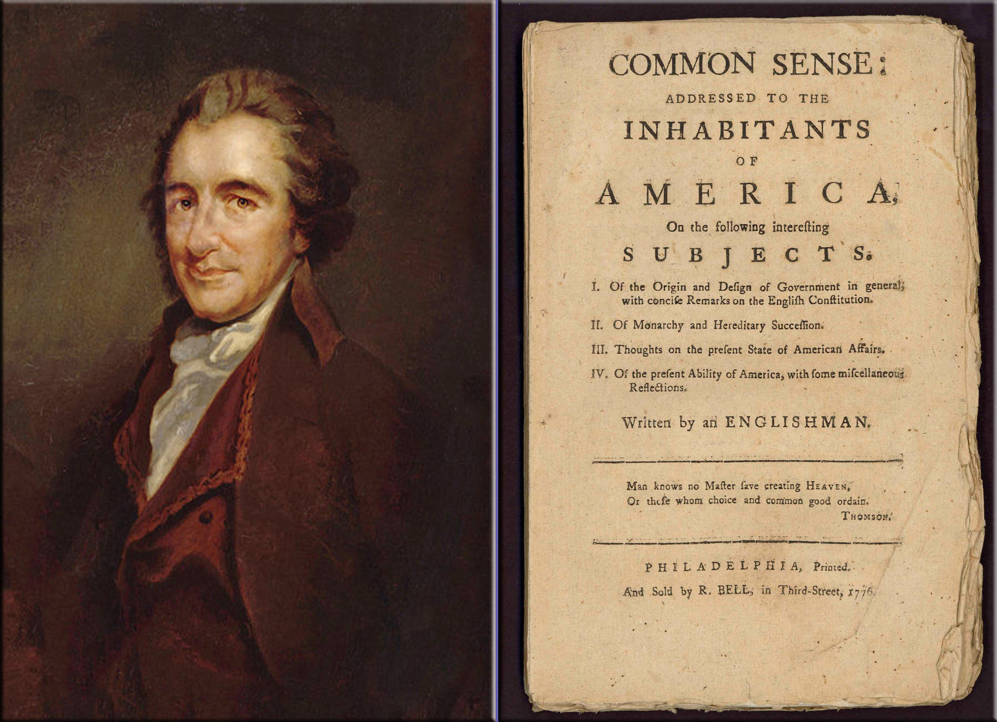 Quotes About Common Sense Thomas Paine 16 Quotes