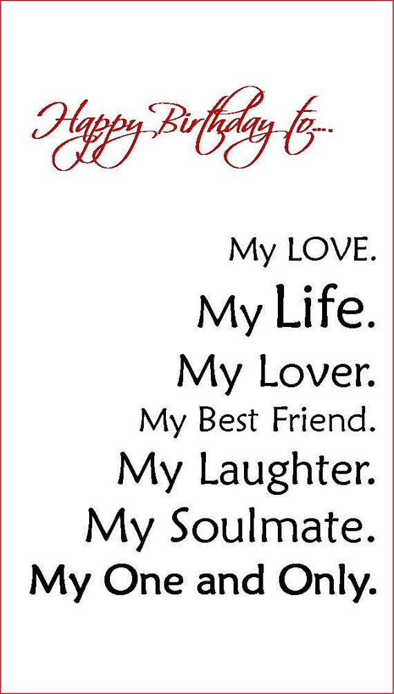 Quotes About Birthday Wife 40 Quotes