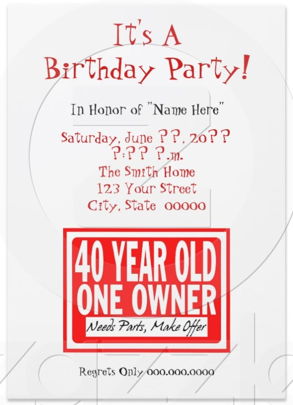 birthday invitations 25 quotes