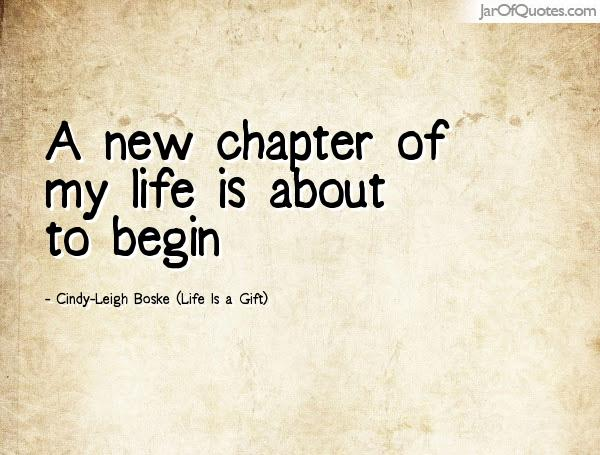About New Life Quotes Chapters