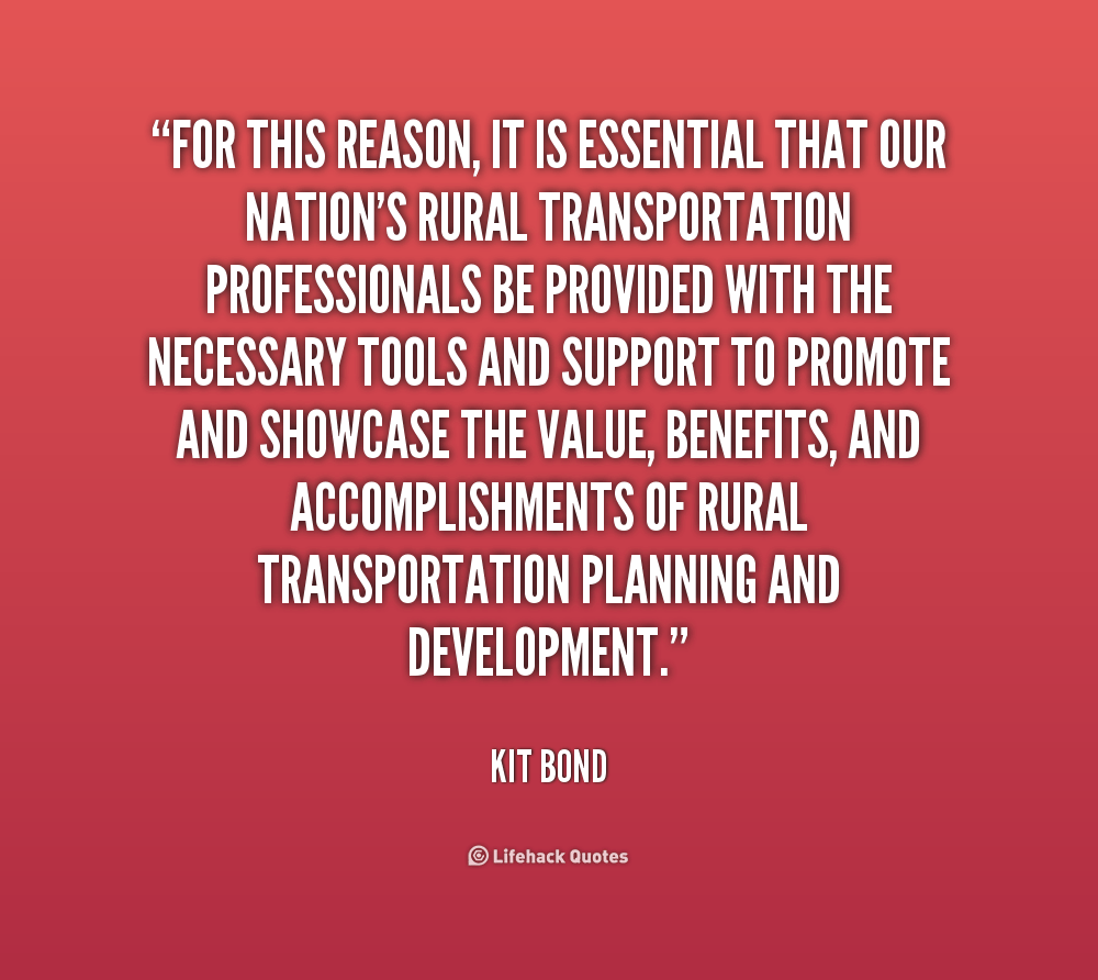 Quotes About Transportation Planning 36 Quotes