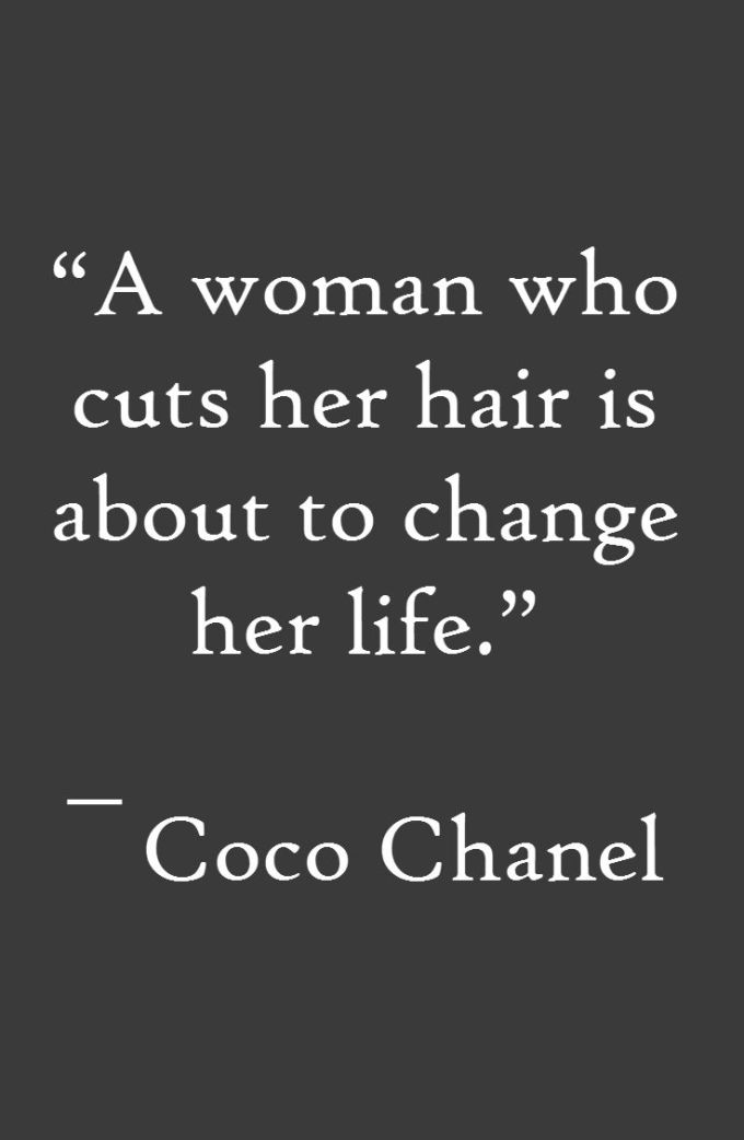 quotes about new hair (60 quotes)
