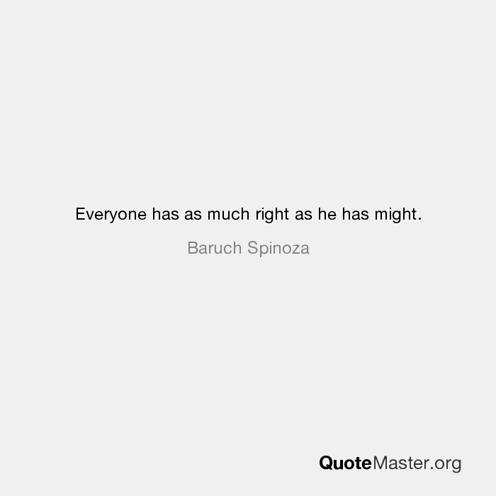 Baruch Spinoza Quotes