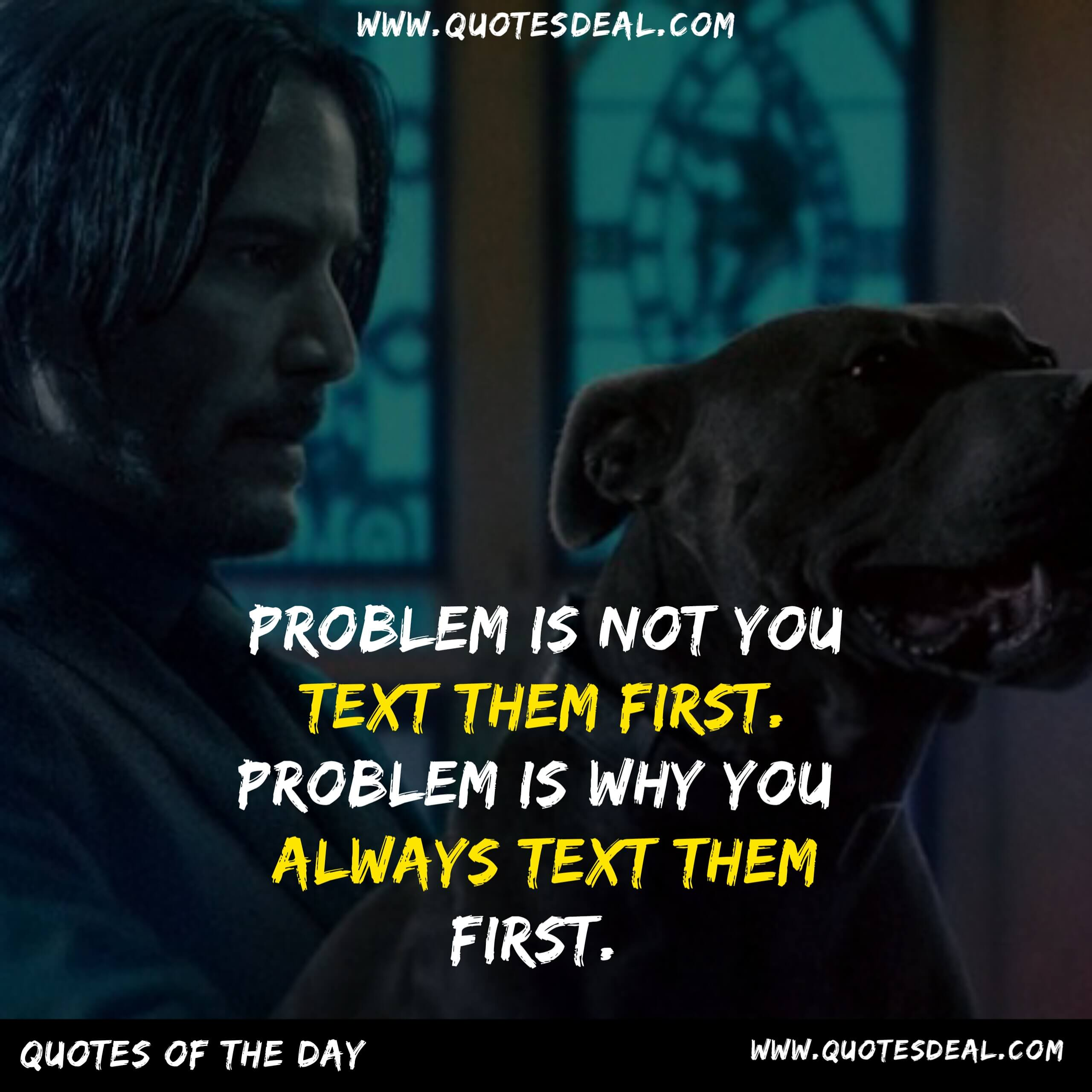 Problem is not you