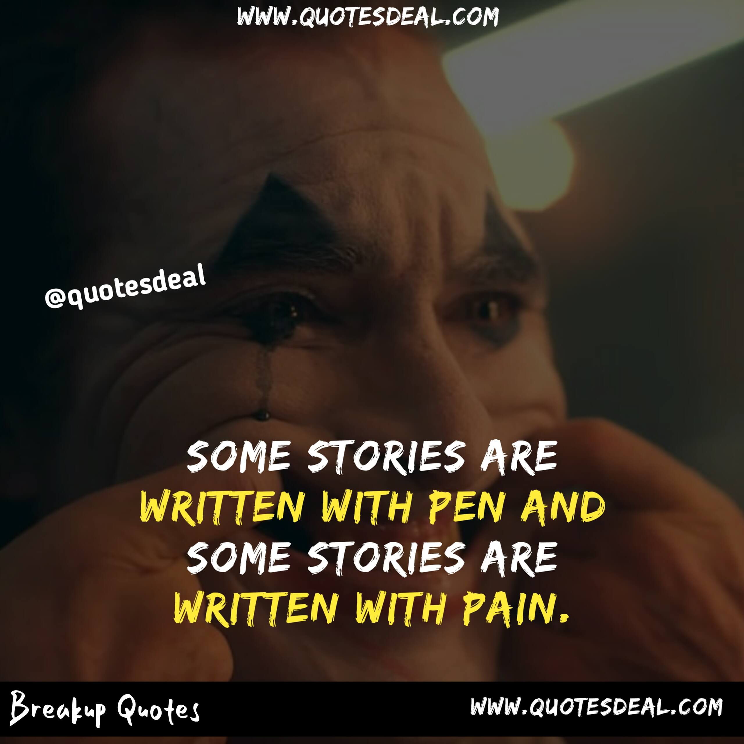Some stories are written with pen