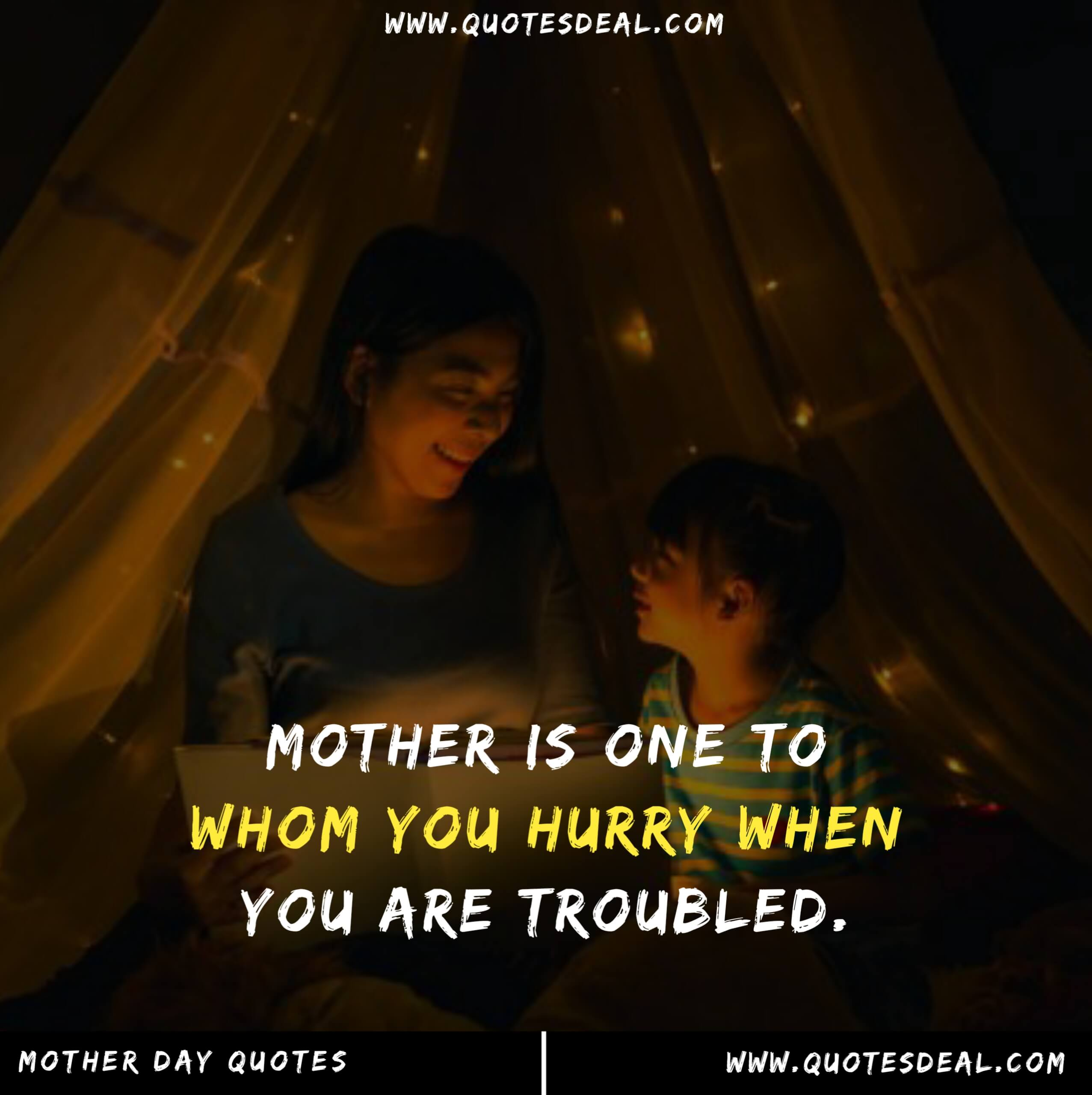 Mother is one