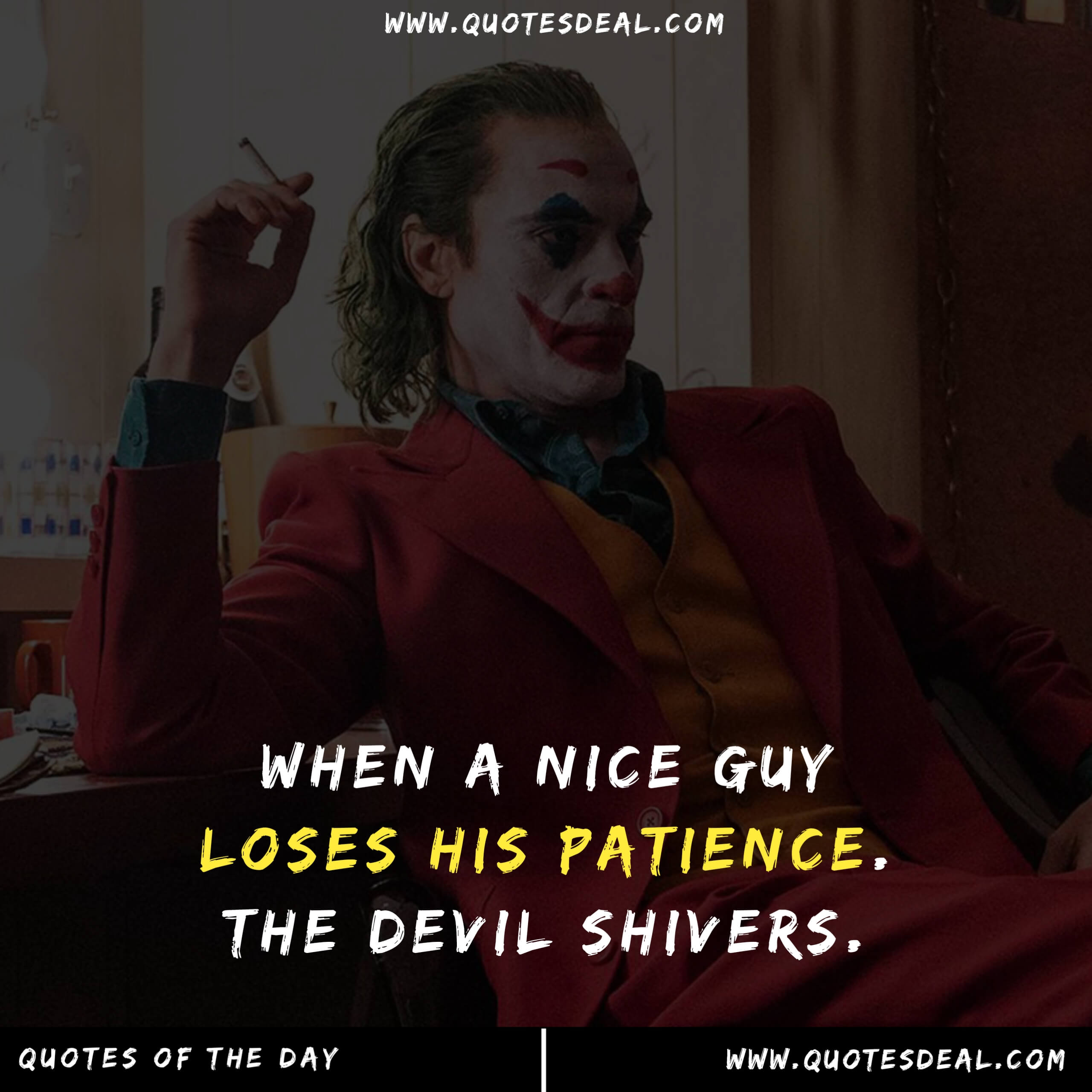 When a nice guy loses
