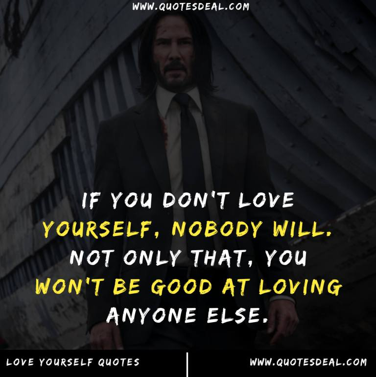 Loving starts with the self