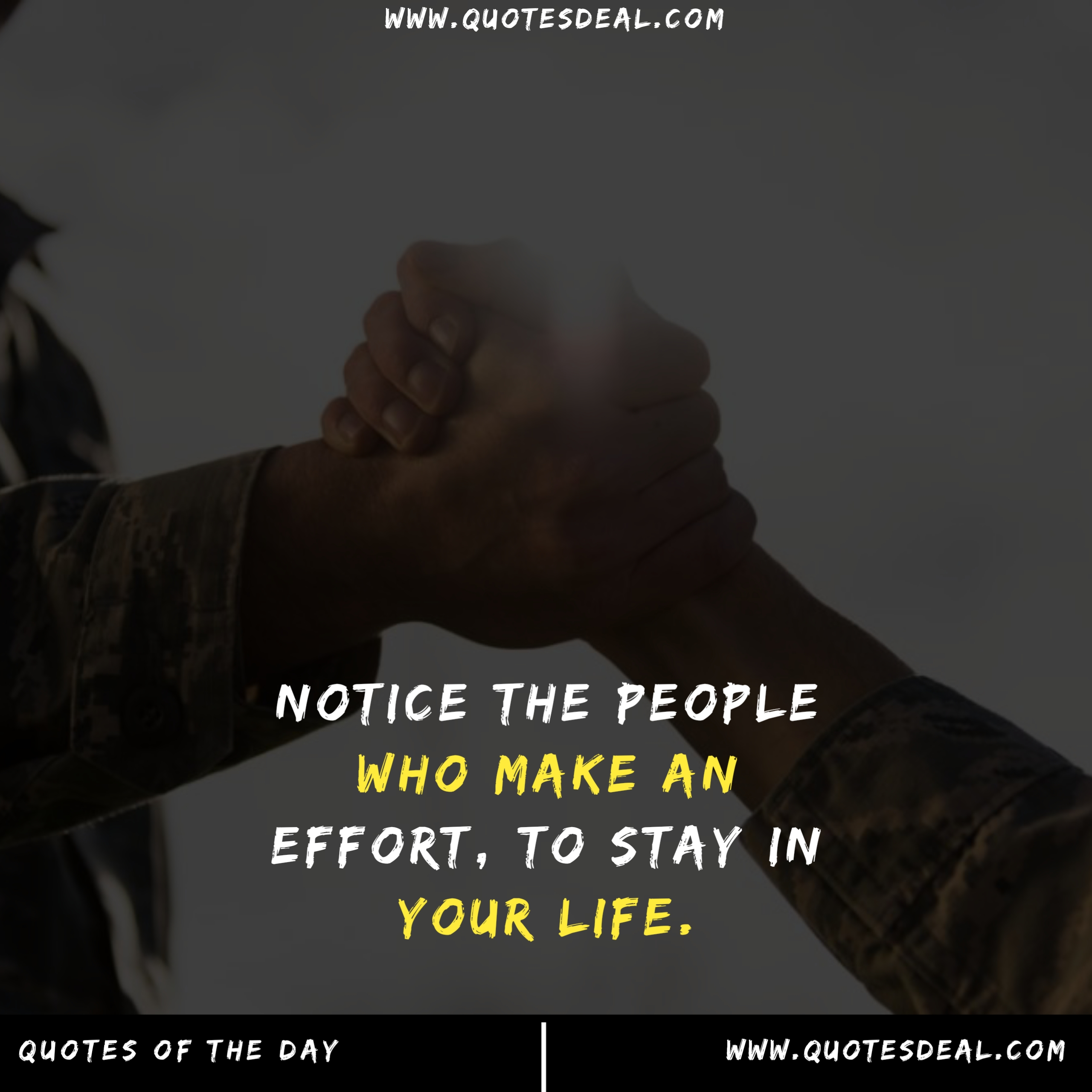 Notice the people