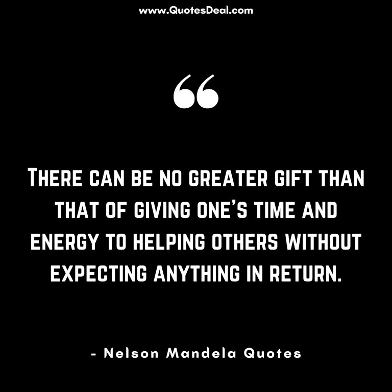 There can be no greater gift