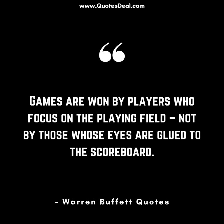 Games are won by players