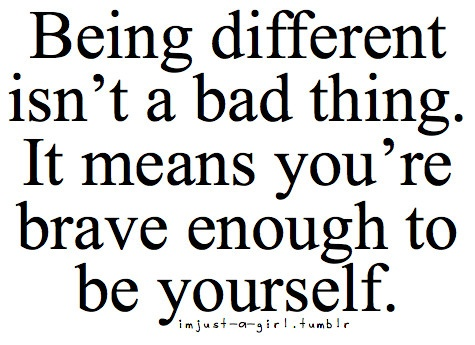 Image result for everyone is different quote