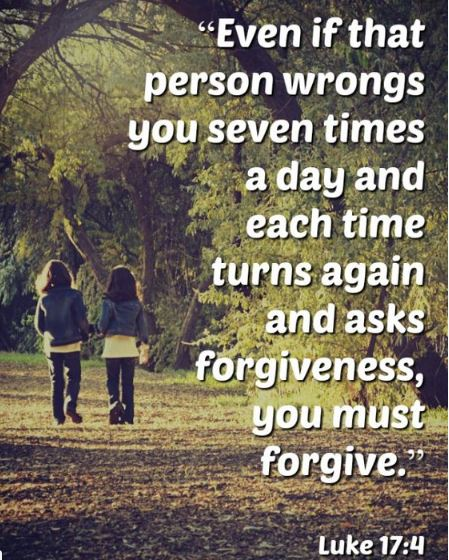 Mistakes You Forgiving Others Scripture
