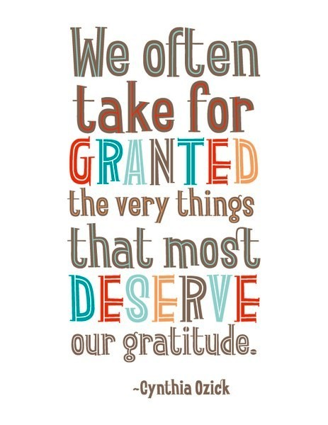 Quotes About Taking Things For Granted. QuotesGram