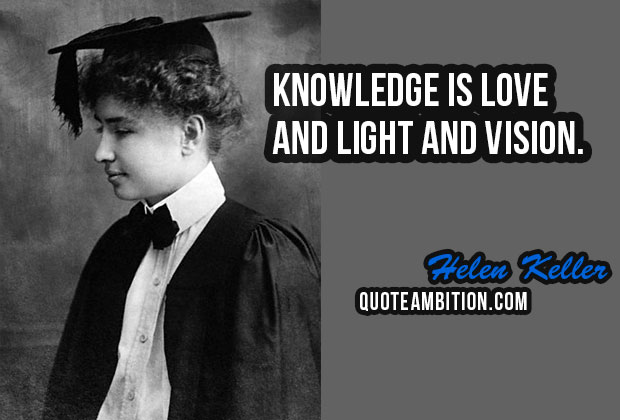 50 Famous Helen Keller Quotes - Quotes Sayings | Thousands ...