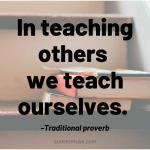 80 Inspirational Quotes about Sharing Knowledge
