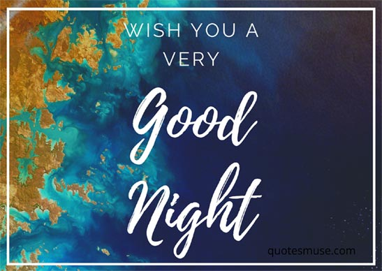 a good night wish