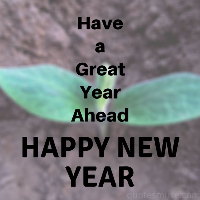Have a great year ahead