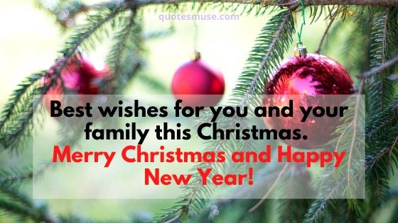 70 Merry Christmas and Happy New Year Wishes