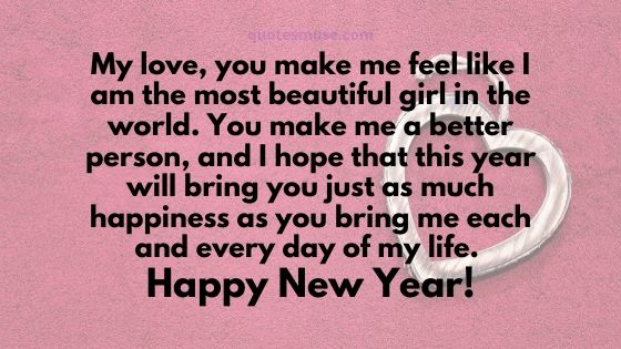 120 Happy New Year Wishes for Boyfriend
