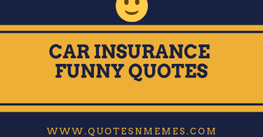 Car Insurance Funny Quotes