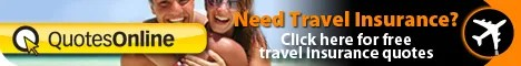 Travel insurance quotes with Quotesonline is easy