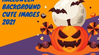 Halloween background cute Images 2021