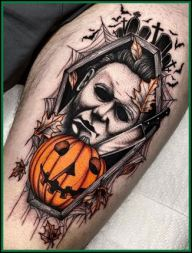 Michael Myers Tattoo Ideas Images 2021