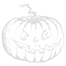Halloween black and white clipart download
