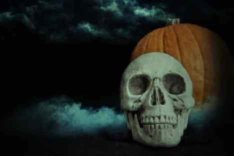 cute scary Halloween background pictures