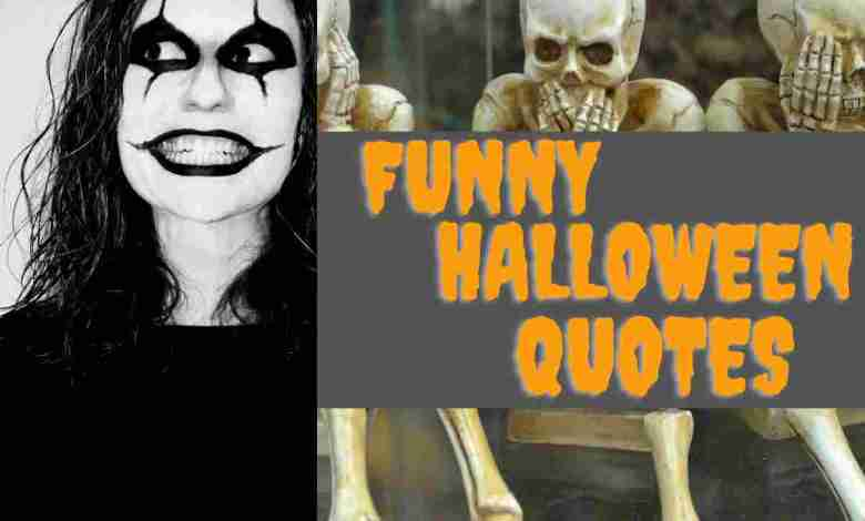 funny halloween quotes 2021