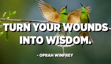 Nabarkaagana xigmad geli. - Oprah Winfrey