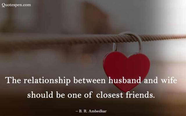 the relationship between husband and wife