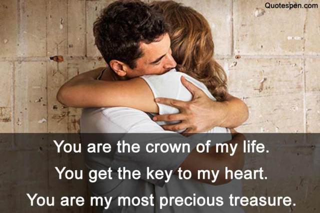 you are the crown of my life