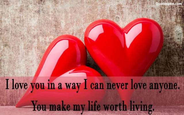 You make my life-love wife quote