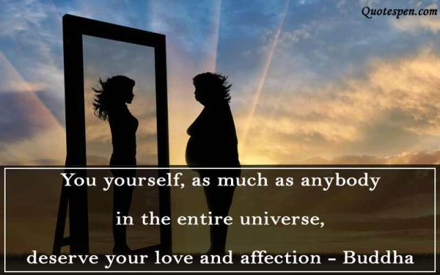 yourself love quotes in english