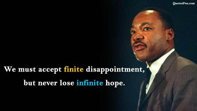 martin luther king quotes inspirational