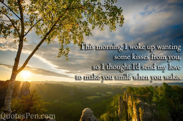 this-morning-kisses-quote