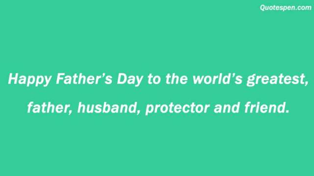 happy father day husband quote