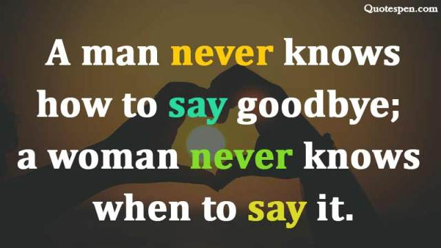how-to-say-goodbye-quote