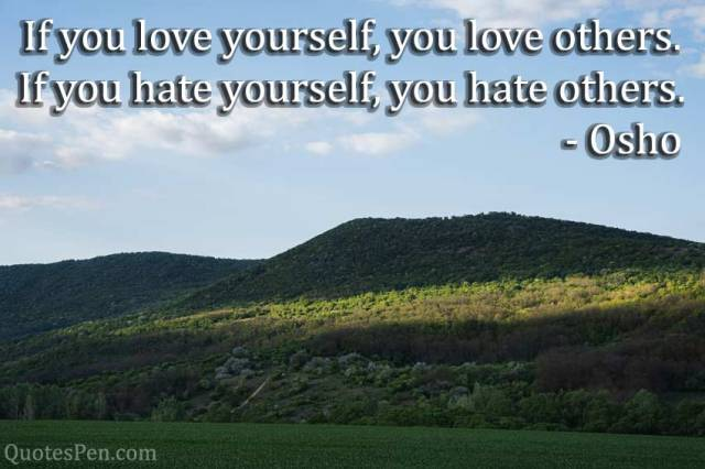 if-you-love-yourself