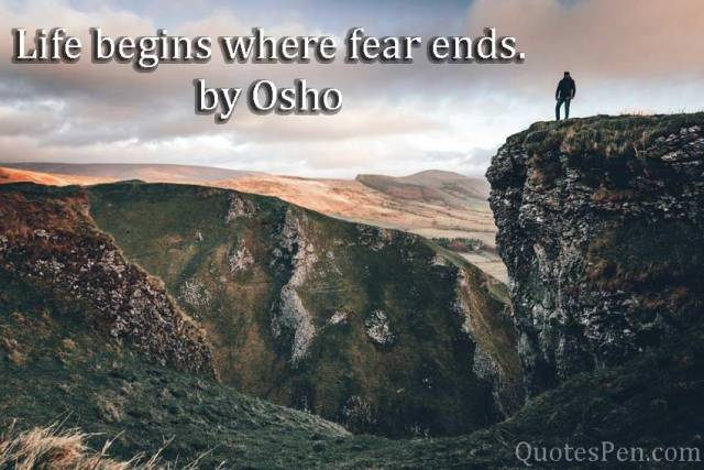 life-fear-osho-quote
