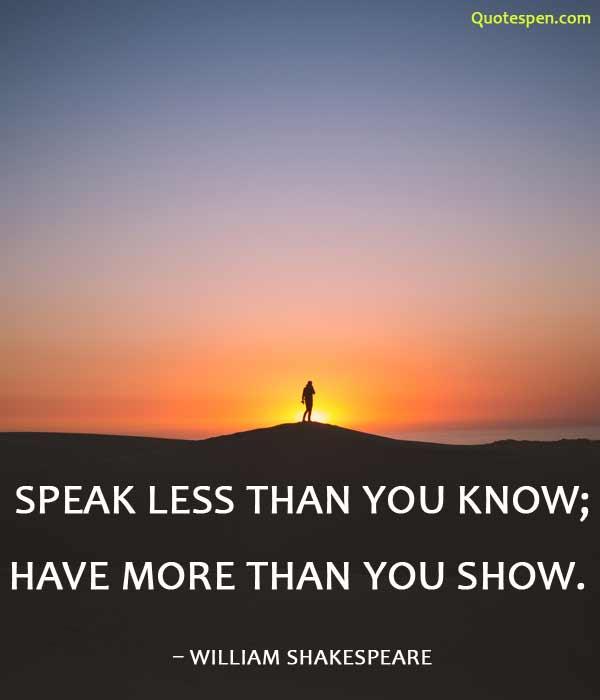 speak-less-than