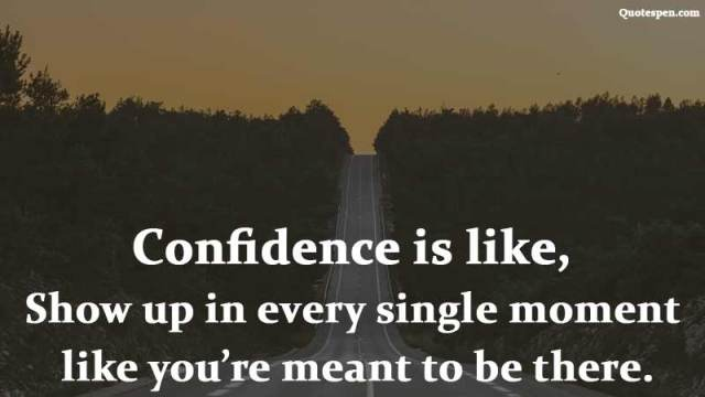 confidence-is-like