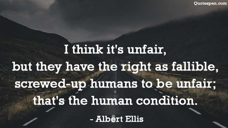 i-think-it-unfair-quote