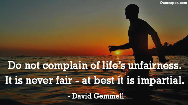 unfairness-quotes