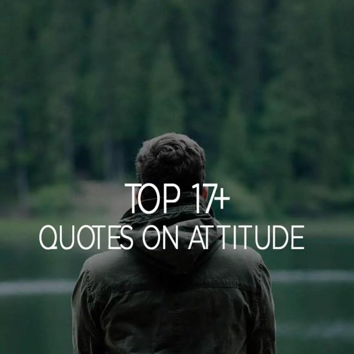 Quotes On Attitude