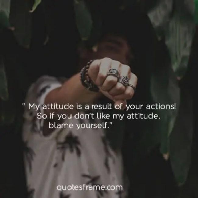 quotes on attitude behaviour